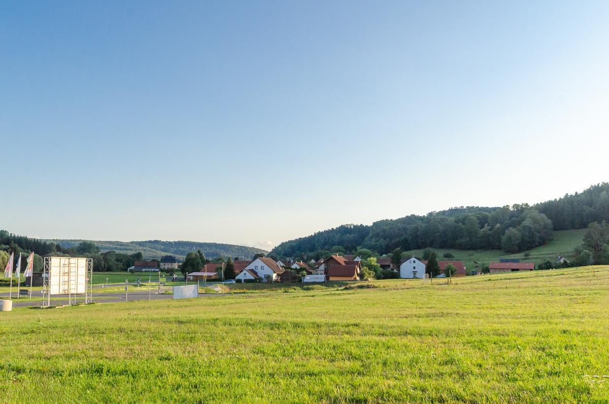 Blick auf Truppach bei Obernsees